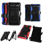 Phone Case For Cricket ZTE Fanfare 2 4g LTE DZTN5003 Holster with Cover Stand