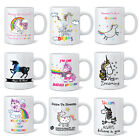 Unicorn 11oz Ceramic Mug Cup - Funny Novelty Gifts Mugs - Choose From 9 Designs