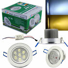 7W LED Down light Ceiling Recessed Lamp Spotlight in Warm / Cool White w/Driver