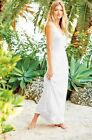 New Lilly Pulitzer ASTER MAXI DRESS S M L White Whirlpool Knit Crochet Lace NWT