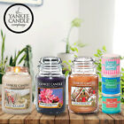 SET OF 2 YANKEE CANDLES LARGE 22oz JARS SCENTS VOTIVE SETS 150 HOURS BURN TIME