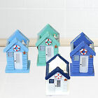 Nautical Seaside Beach Hut Pen / Toothbrush Holder - For Bathroom Or Home Office