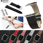 Genuine Leather Band Strap+Classic Metal Buckle for Apple Watch iWatch 38 42mm