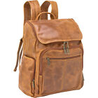 Le Donne Leather Distressed Leather Computer Backpack Business & Laptop Backpack