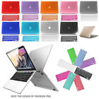 Rubberized Hard Case Keyboard Cover fr Macbook Pro 13 15 with/out Touch Bar 2016