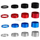 4x Aluminum Alloy 5&10&15&20mm Bike Headset Spacer Cycling Bicycle Washer Stem