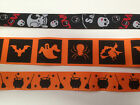 HALLOWEEN Ribbon - Spooky Skull, Cauldron, Witch... Various Discontinued items