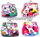 Lot Mickey Minnie Mouse Children Coin Purse Wallet Hasp package Party Gifts K086