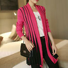 Women Cardigan Jumper Knitwear Long Sleeve Sweater Outwear Jacket Coat Top Hot