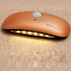 NEW Body Induction Wall Lamp Motion-activated Flashlight Broad Bean LED Lamp