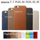 High Quality Ultra Thin Genuine Leather Case For iPhone 6 6S 7 Plus Cover Cases