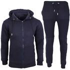 NEW MENS BOYS FULL TRACKSUIT TOP BOTTOMS HOODED JOGGERS  GYM JOGGING UK S M L XL