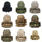 50L 3D Molle Military Tactical Backpack Rucksack Trekking Bag Outdoor Camping