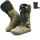 Wulf Trials Adult Boots Off Road MX Enduro Leather Wulfsport Bike GhostBikes