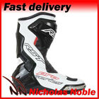 RST Pro Series 1503 White CE Certified Sports Pro Race Boots