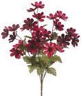 "18"" ARTIFICIAL VELVET COSMOS BUSH, 2 COLORS, NEW, FREE SHIPPING!"