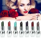 Women 7 Color Makeup Moisture Shimmer Lipstick Full Size Lip Stick AU B20E