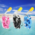 Swimming Full Face Mask Surface Diving Snorkel Scuba Breath Swim for GoPro Camer