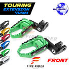 For Triumph Tiger 955i 01-07 04 05 40mm Riser CNC Touring Front Footpegs $61.99 USD on eBay