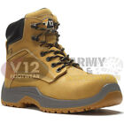 V12 VR602 PUMA Honey Nubuck Leather Work Hiker Safety Boot Composite Toecap Wide