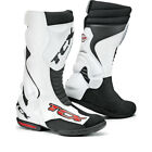 TCX TCS Speedway Motorcycle Textile Boots Bike Racing Off Road Track All Sizes