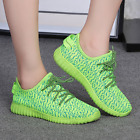 Womens Mesh Lace Up Breathable Sneaker Shoes Sports Flat Korean Pump Candy Color