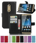 Litchi Leather wallet flip stand pouch Cover Skin Case FOR ZTE GRAND X4 Z956