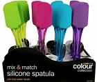 Non-Scratch Silicone Spatula Utensil Mixing Spoon Cooking Baking Heat Resistant