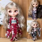 Blythe BJD Doll SD Dollfie DZ DOD LUTS Girls Clothes Outfit Kimono Wear 4 Colors