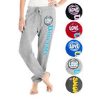 French Terry Jogging Lounge Pants w/ University Screen Print- 5 Colors & 3 Sizes