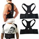 Men / Women Adjustable Posture Corrector Back Support Shoulder Back Brace Belt фото