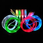 1M 3Ft Micro USB Charge Data Sync Cable for Android Samsung LED Visible Light