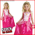 Disney Princess SLEEPING BEAUTY Girls Book Week Fancy Dress Costume /Bag / Tiara