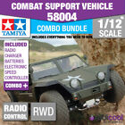 COMBO DEAL! 58004 TAMIYA XR311 COMBAT SUPPORT VEHICLE LTD 1/12th RADIO CONTROL
