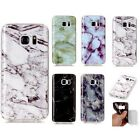 Glossy Soft Marbling Phone Cases For Samsung S8 S7 S6 S5
