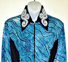 Girls Western Rail, Pleasure, Rodeo,Trail, & Glamour Shirt N 6 Color Choices