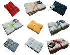 PACK OF 6 100% TERRY COTTON FINE WOVEN TEA TOWELS / KITCHEN TOWELS 650x420mm