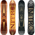 Nitro Magnum Herren Snowboard All Mountain Freeride Camber Wide 2017-2018 NEU