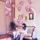 "Foil Helium Balloons Wedding Party Birthday Venue Decor 18"" Star Heart Shaped"