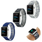 New Camouflage Stainless Steel Magnetic Buckle Watch Band For Apple Watch iWatch