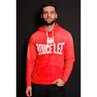 Roots of Fight Bruce Lee Icon Pullover Hoodie - Vintage Red