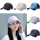 Summer Unisex Fishing Travelling Men Fashion Sun Hat Hats Baseball Cap Casual