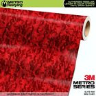 camouflage vehicle wrap - MINI ELITE RED Camouflage Vinyl Vehicle Car Wrap Camo Film Sheet Roll Adhesive
