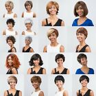 Top Ladies Wigs Capable Lovely Party Bump Short Hair Club Wear  Blonde