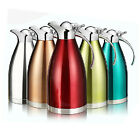 1pc 1.5/ 2L Vacuum Stainless Steel Thermos Flask Insulated Thermal Pot  Jug