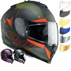 HJC IS-17 Armada Motorbike Helmet & Visor Kit Motorcycle ACU Gold ECE Approved