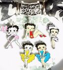 Betty Boop 3 piece scarf tube jewelry, bail, slide handmade US  4 choices $3.5 USD