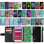 "For LG Tribute HD LS676 X Style 5"" X Skin L53BL Magnetic Wallet Case Cover + Pen"