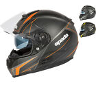 Spada SP16 Linear Motorcycle Motorbike Full Face Helmet Crash Bike EC2205 ACU
