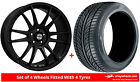 Alloy Wheels & Tyres 17'' Calibre Suzuka For Toyota Corolla Verso [Mk3] 04-09